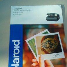 Cámara de fotos: FOLLETO PUBLICIDAD POLAROID IMAGE PRO AÑO 1995. Lote 144587274