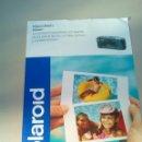 Cámara de fotos: FOLLETO PUBLICIDAD POLAROID VISION DATE AÑO 1995. Lote 144587294