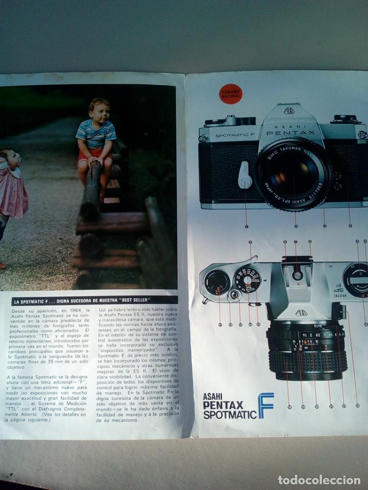 CATALOGO ORIGINAL ASAHI PENTAX (Cámaras Fotográficas - Catálogos, Manuales y Publicidad)