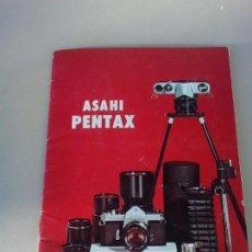 Cámara de fotos: CATALOGO ORIGINAL ASAHI PENTAX SISTEMA COMPLETO DE FOTOGRAFIA AÑO 1969. Lote 144587418