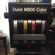 Cámara de fotos: AMPLIADORA DURST M805 COLOR CON OBJETIVO MEOPTA 80MM 4.5. Lote 145834018