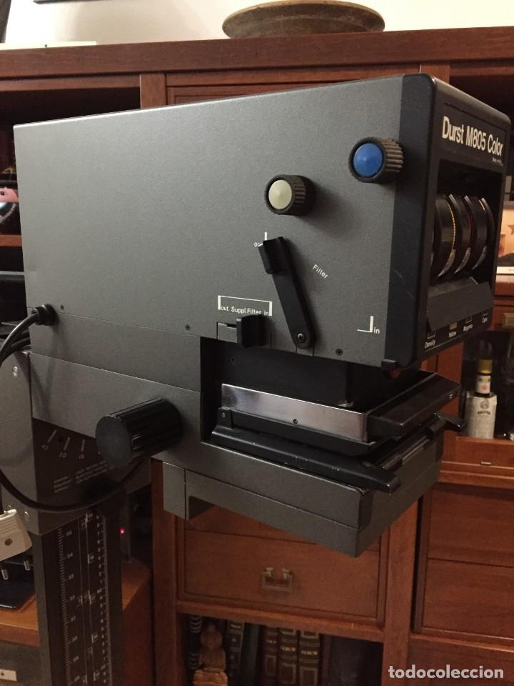 Cámara de fotos: Ampliadora Durst M805 color con objetivo Meopta 80mm 4.5 - Foto 2 - 145834018