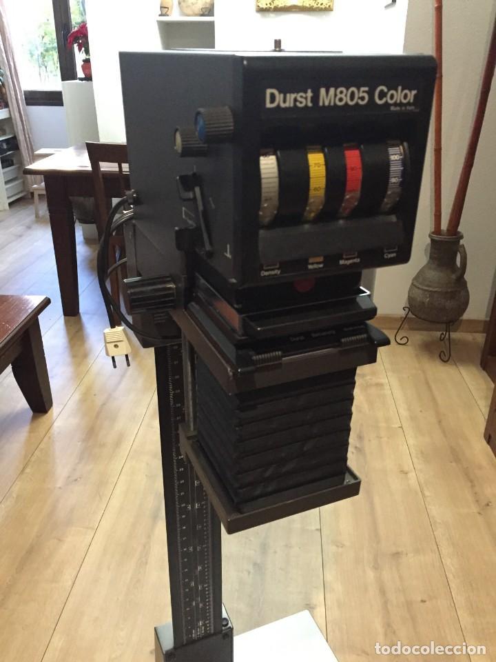 Cámara de fotos: Ampliadora Durst M805 color con objetivo Meopta 80mm 4.5 - Foto 5 - 145834018