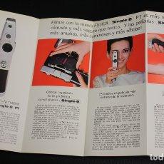 Cámara de fotos: CATALOGO PUBLICITARIO CAMARA FUJICA SINGLE-8 P1. CIRCA 1980. Lote 146476770