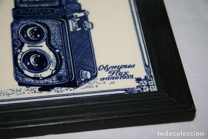 CUADRO OLYMPUS (Cámaras Fotográficas - Catálogos, Manuales y Publicidad)