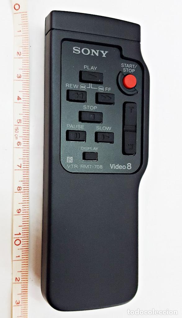 Cámara de fotos: Mando a distacia para video-camara SONY RMT-708. - Foto 2 - 147058166
