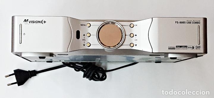 Receptor de satelite NVISION FS-8085 USB