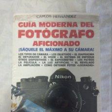 Appareil photos: LIBRO/GUIA MODERNA DEL FOTOGRAFO/NUEVO¡¡¡¡¡¡¡¡¡¡¡. Lote 147905694