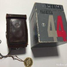 Cámara de fotos: YASHICA 44 EN CAJA , FUNDA Y CONTROL DE CALIDAD -. Lote 148336150