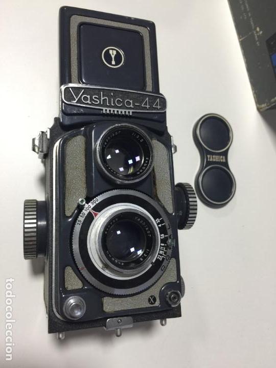 Cámara de fotos: YASHICA 44 EN CAJA , FUNDA Y CONTROL DE CALIDAD - - Foto 6 - 148336150