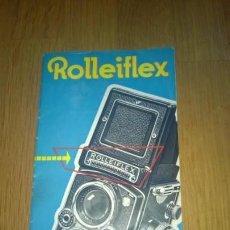 Cámara de fotos: INSTRUCCIONES MÁQUINA DE FOTOGRAFÍA-**ROLLEIFLEX**(EN FRANCÉS) ---ORIGINAL—24-PAGINAS. Lote 148959058