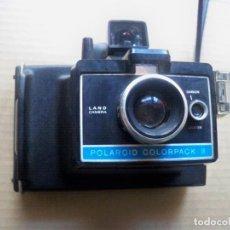 Cámara de fotos: CAMARA FOTOS POLAROID COLORPACK II INSTANTANEA. Lote 149388426