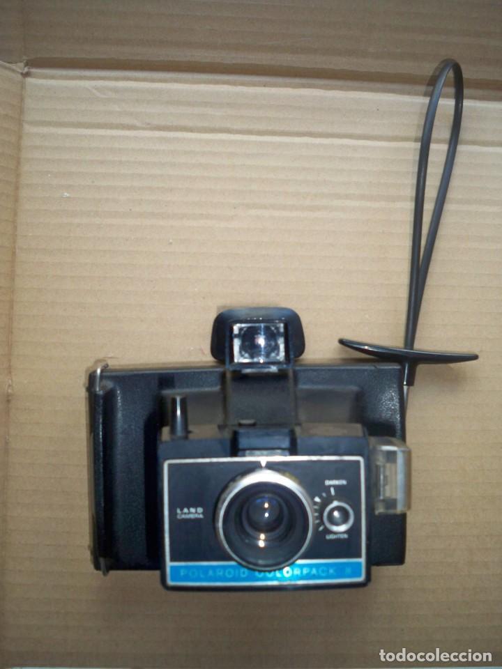 Cámara de fotos: CAMARA FOTOS POLAROID COLORPACK II INSTANTANEA - Foto 2 - 149388426