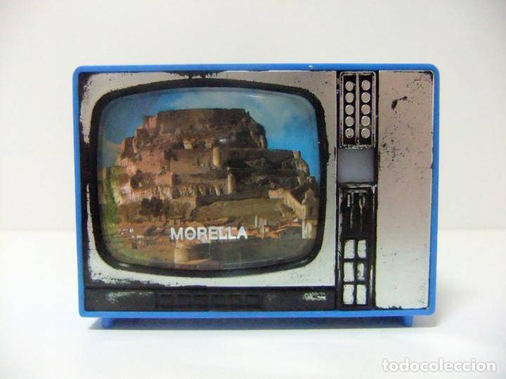 VISOR TELEVISOR SOUVENIR MORELLA - TELEVISIÓN TV TURISMO FOTOS DIAPOSITIVAS CASTELLÓN CASTILLO DE (Cámaras Fotográficas - Visores Estereoscópicos)