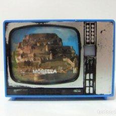 Cámara de fotos: VISOR TELEVISOR SOUVENIR MORELLA - TELEVISIÓN TV TURISMO FOTOS DIAPOSITIVAS CASTELLÓN CASTILLO DE. Lote 149867146