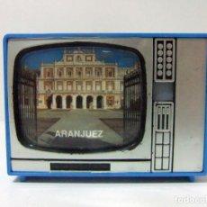 Cámara de fotos: VISOR TELEVISOR SOUVENIR ARANJUEZ - TELEVISIÓN TV TURISMO FOTOS DIAPOSITIVAS MADRID PALACIO DE. Lote 149867590
