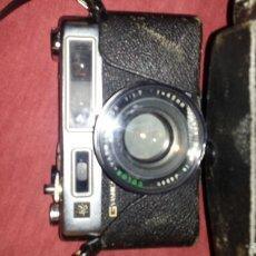Cámara de fotos: YASHICA ELECTRO 35 GSN 1971-1979, FUNDA Y CORREA. FUNCIONA.. Lote 149949082