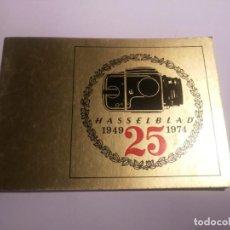 Cámara de fotos: HASSELBLAD 1949 - 1974 . 25 AÑOS.. Lote 150066034