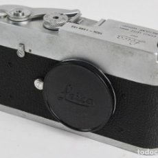 Cámara de fotos: CAMARA LEICA DBP ERNST LEITZ GMBH WETZLAR, GERMANY. MDA- 1286 159. 35 MM. AÑO 1966.. Lote 150787718