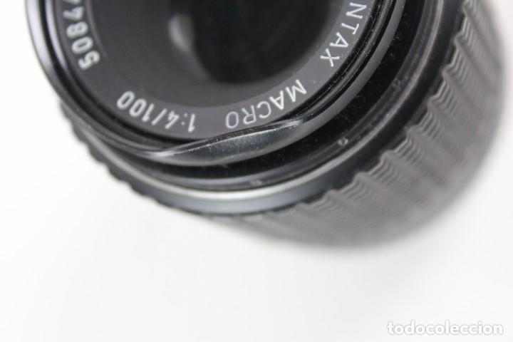 Cámara de fotos: CAMARA PENTAX ASAHI K2, CON OBJETIVO MACRO 1:4/100. 1975. - Foto 9 - 150966046
