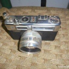 Cámara de fotos: CAMARA VINTAGE YASHICA 1965 ELECTRO 35 JAPAN COPAL ELEC BAT CHECK. Lote 150972318