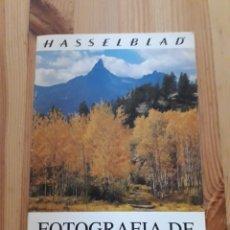 Cámara de fotos: HASSELBLAD FOTOGRAFIA DE PAISAJE CATALOGO CAMARA. Lote 151253689
