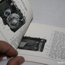 Cámara de fotos - Contax I instrucciones en español - 152015766