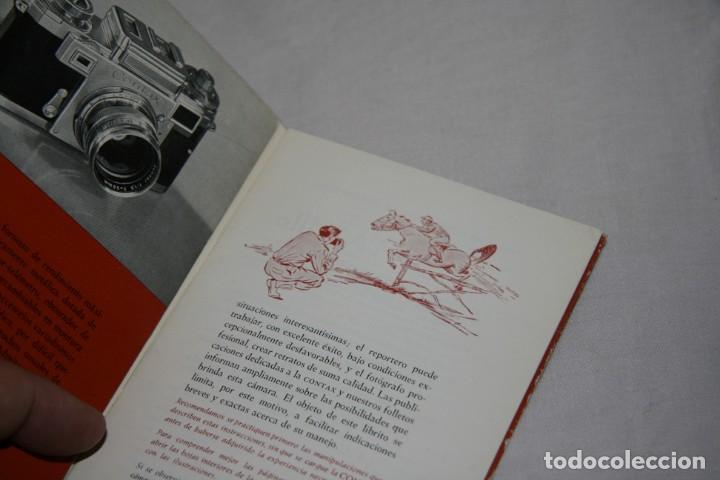 Cámara de fotos: Contax IIIa Instrucciones en español - Foto 3 - 152020094