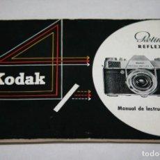 Cámara de fotos - Kodak Retina reflex S instrucciones en español - 152026454