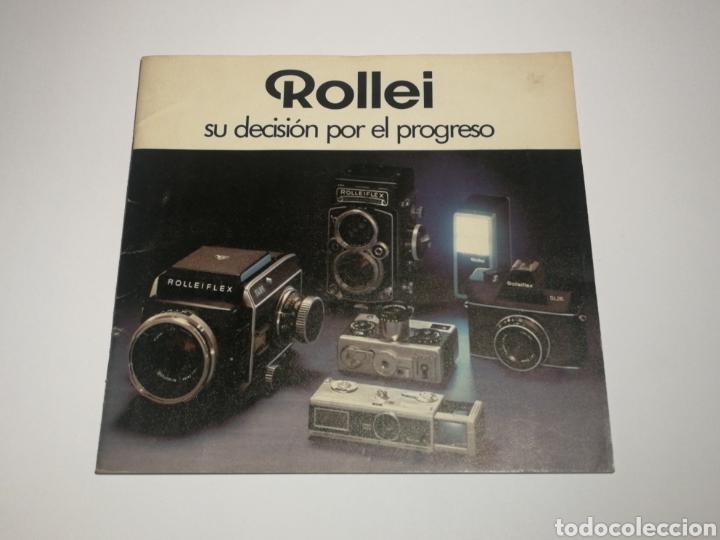 CATÁLOGO ROLLEIFLEX ROLLEI ESPAÑOL. 35 PÁGINAS. (Cámaras Fotográficas - Catálogos, Manuales y Publicidad)