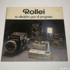 Cámara de fotos: CATÁLOGO ROLLEIFLEX ROLLEI ESPAÑOL. 35 PÁGINAS.. Lote 152658988