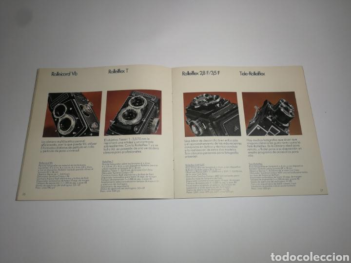 Cámara de fotos: Catálogo rolleiflex rollei español. 35 páginas. - Foto 2 - 152658988