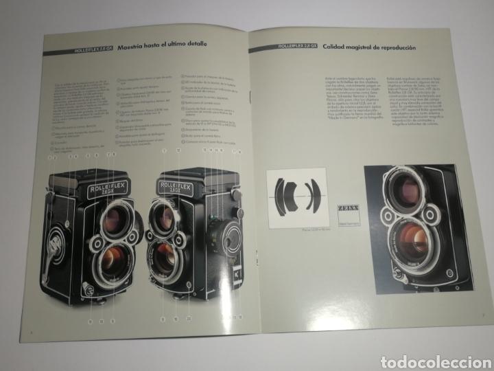Cámara de fotos: Catalogo folleto rollei rolleiflex 2,8 GX - Foto 2 - 152659417