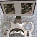 Cámara de fotos: VISOR ESTEREOSCOPICO ESTEREOSCOPIO DE BOLSILLO --UNIS FRANCE..STEREOSCOPES. Lote 152721326