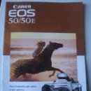 Cámara de fotos: CATÁLOGO CANON EOS 50 / 50E. PARA FOTÓGRAFOS QUE SABEN LO QUE QUIEREN (1995). 16 PÁG.. Lote 153119222