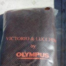 Cámara de fotos: FUNDA DE PIEL DE OLYMPUS VICTORIO&LUCCHINO. Lote 156736513