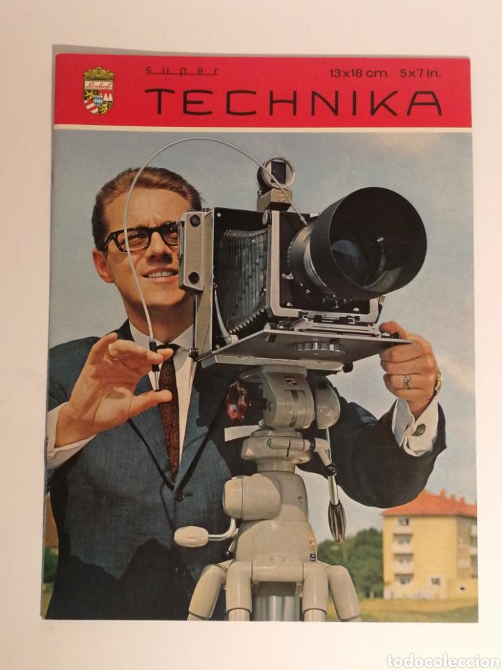CATÁLOGO LINHOF SUPER TECHNIKA 13X18 (Cámaras Fotográficas - Catálogos, Manuales y Publicidad)