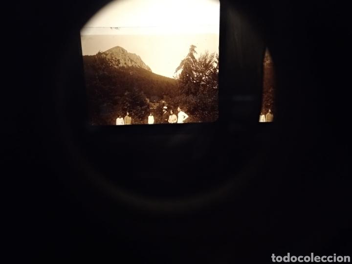 Cámara de fotos: ANTIGUO VISOR ESTEREOSCOPIO LE TAXIPHOTE . STEREO CLASSEUR. JULES RICHARD. FRANCIA. FUNCIONA. - Foto 15 - 153709602
