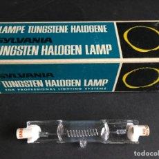 Cámara de fotos: LAMPARA TUNGSTENE HALOGENE SYLVANIA, DXW 1000W 120V 150H, MADE IN GERMANY. Lote 153802602