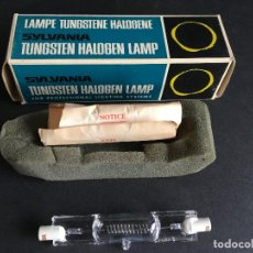 Cámara de fotos: LAMPARA TUNGSTENE HALOGENE SYLVANIA, DXW 1000W 120V 150H, MADE IN GERMANY. Lote 153803966