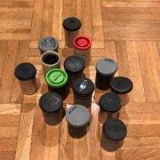 Cámara de fotos - Lote de carretes metálicos y plástico Kodak valca - 153880218