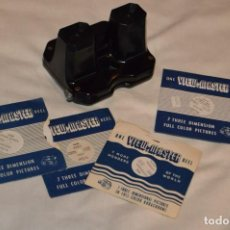 Cámara de fotos: VISOR SAWYER'S VIEW MASTER - MADE IN USA - INCLUYE 4 SETS DE DIAPOSITIVAS - ENVÍO 24H. Lote 154020858