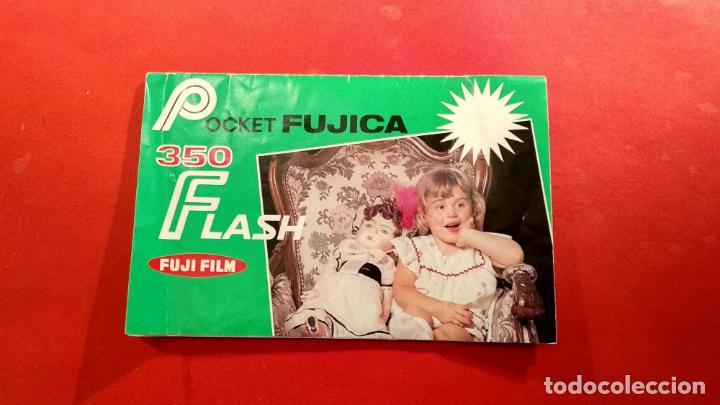 INSTRUCCIONES POCKET FUJICA 350 FLASH (Cámaras Fotográficas - Catálogos, Manuales y Publicidad)