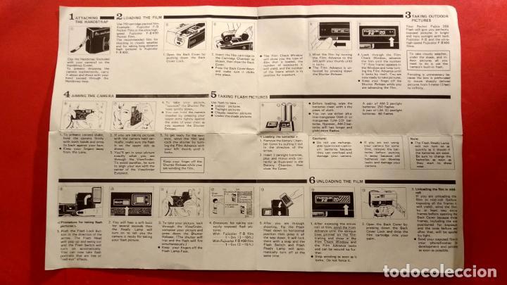 Cámara de fotos: Instrucciones Pocket Fujica 350 Flash - Foto 2 - 154157134