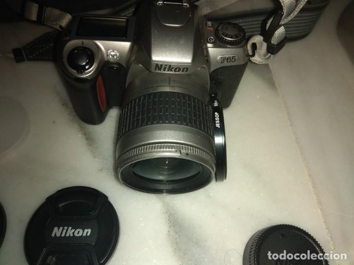 Cámara de fotos: CAMARA NIKON F65 TODO EL CONJUNTO - Foto 2 - 154526494