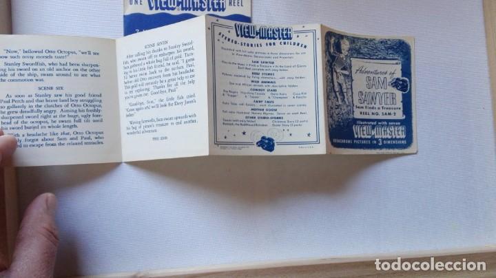 Cámara de fotos: ANTIGUO PROYECTOR DE DIAPOSITIVAS VIEW MASTER JUNIOR Y DIAPOSITIVAS.MADE IN EE.UU.PRINCIPIO AÑOS 50 - Foto 11 - 154704718