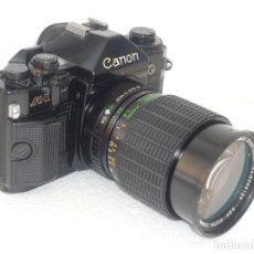 Cámara de fotos: CANON A1 ANALOGICA CON ZOM 28-85.( BLOQUEADA). Lote 154721150