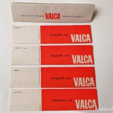 Cámara de fotos: VALCA ESTUCHES PARA NEGATIVOS. Lote 155175854