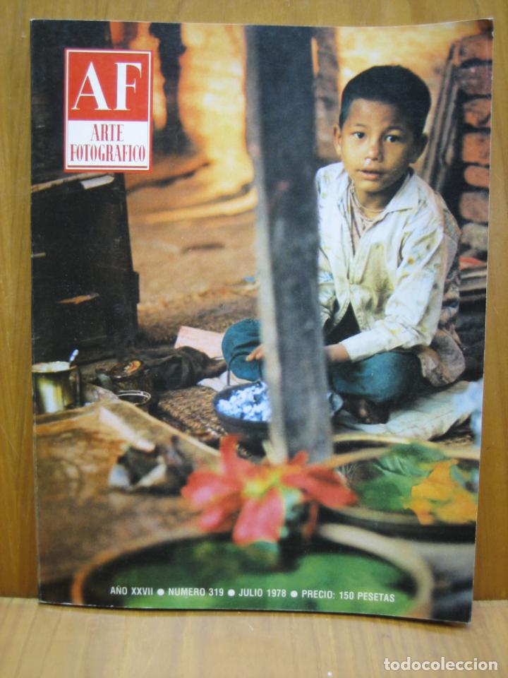 REVISTA ARTE FOTOGRÁFICO AÑO SE 70 (Cámaras Fotográficas - Catálogos, Manuales y Publicidad)
