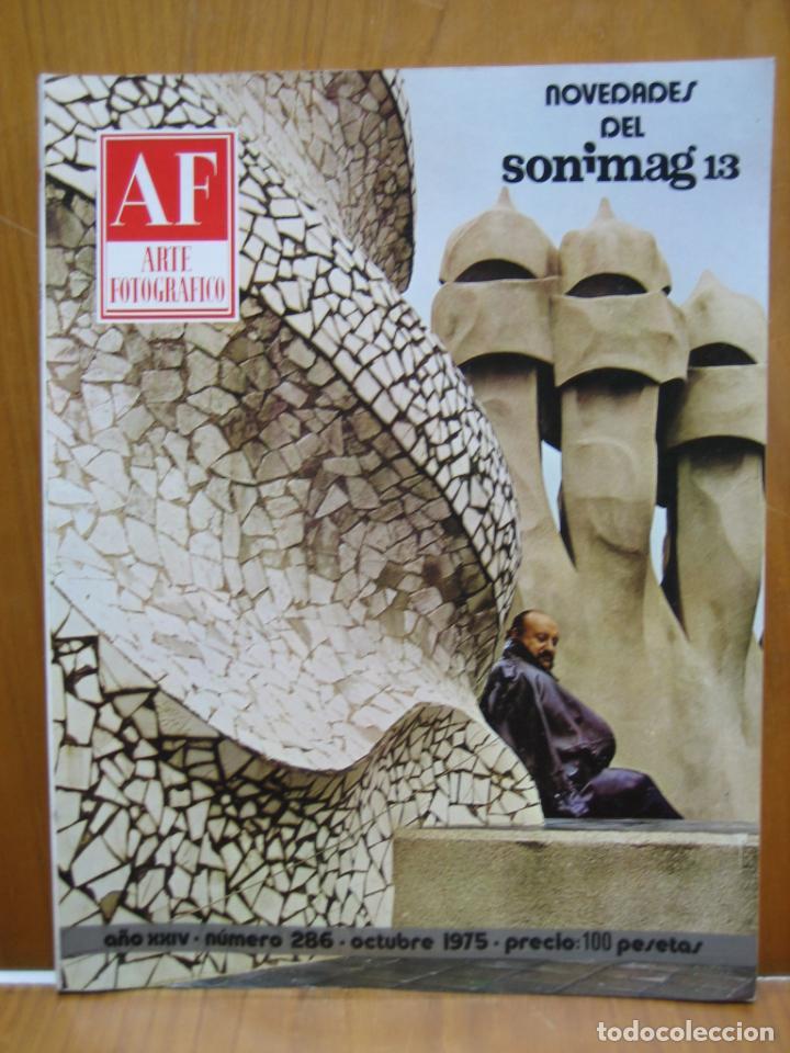 REVISTA ARTE FOTOGRÁFICO AÑOS 70 (Cámaras Fotográficas - Catálogos, Manuales y Publicidad)